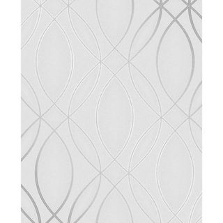 Emerald, Geometric Lattice Wallpaper, 20.5 in x 33 ft = About 56.4 square feet - 20.5 in x 33 ft = 56 sq ft