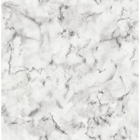 Adelson, Marble Wallpaper, 20.5 in by 33 ft, 56 square feet - 20.5 in x 33 ft = About 56.4 square feet