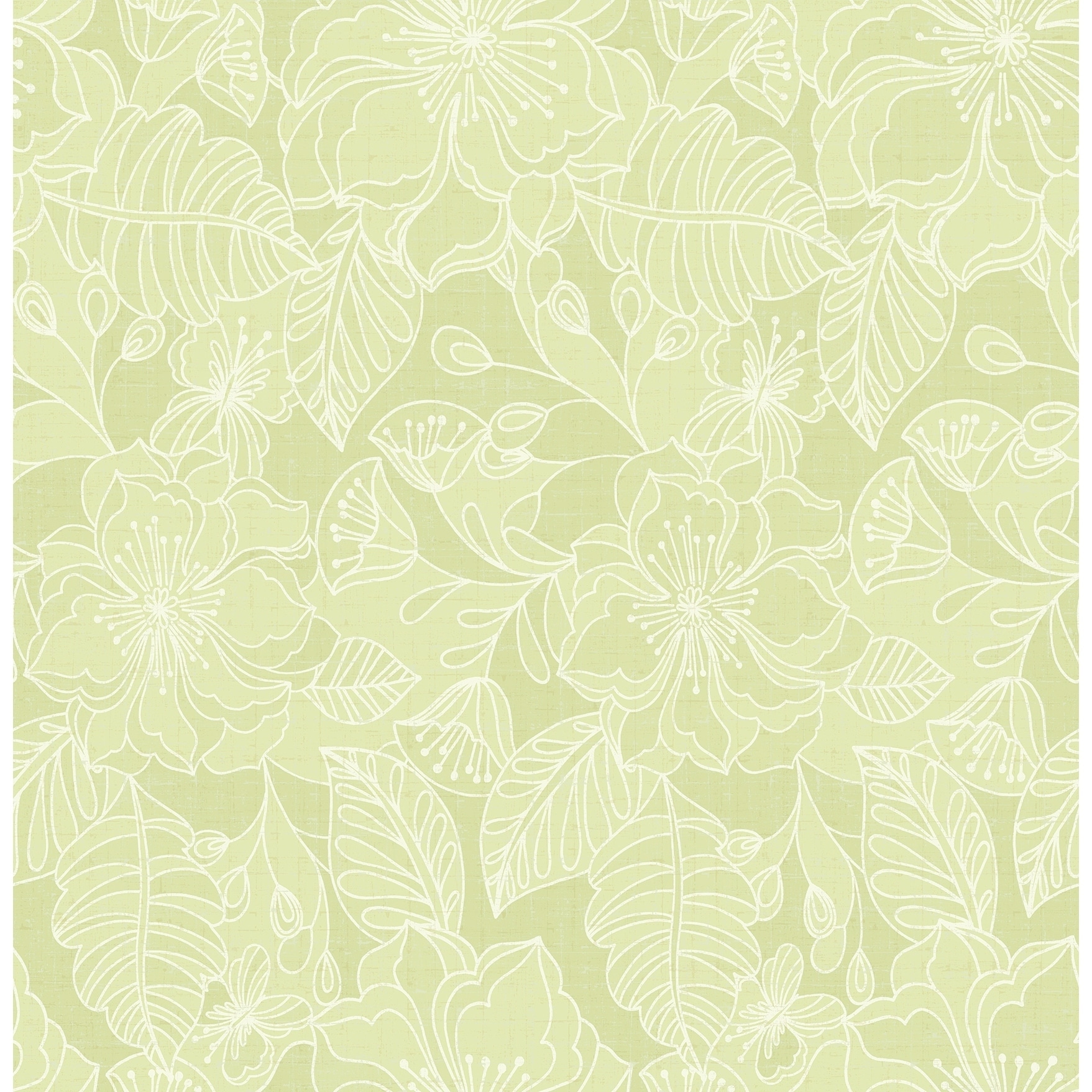 Shop Menard Floral Wallpaper 20 5 In X 33 Ft About 56 4 Square Feet Overstock 30621436