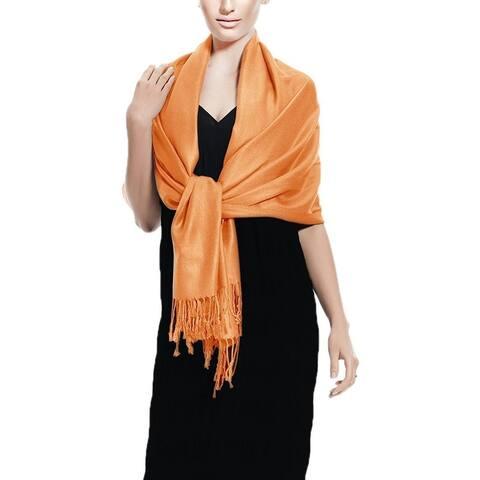 Tangerine Pashmina Scarves