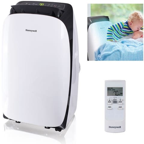 Contempo Series Portable Air Conditioner with Dehumidifier and Remote Control for a Room up to 400 Sq. Ft. - N/A