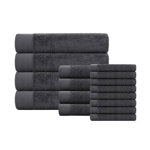 VCNY Home London 16-Piece Cotton Bath Towel Set