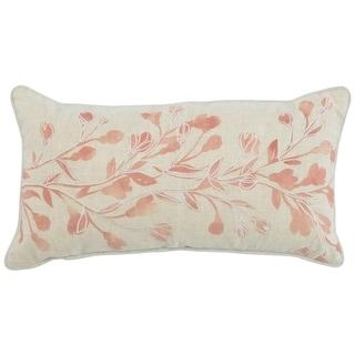 """Kosas Home Oliver 100% Linen 14""""x26"""" Throw Pillow"""