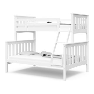 Thomasville Kids Winslow Twin Over Full Bunk Bed - Full Length Safety Rails on Top Bunk, Sturdy Ladder