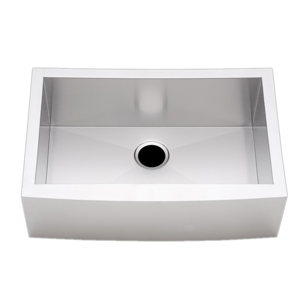 27-inch Stainless Steel Single-bowl Farmhouse Sink