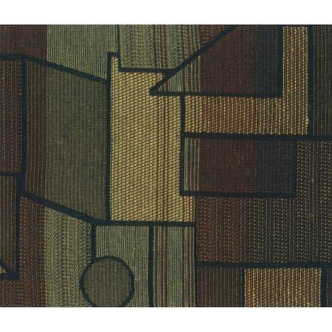 Blazing Needles 5-Piece Full Size Tapestry Futon Cover Set