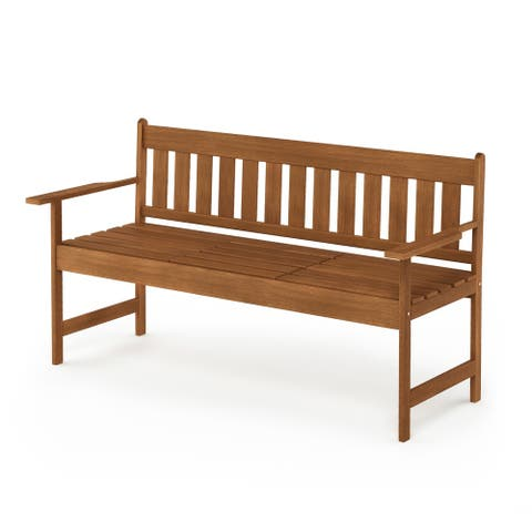 Furinno Tioman Outdoor Hardwood Occasional Bench