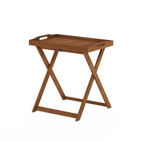 Furinno Tioman Outdoor Hardwood Tray Table