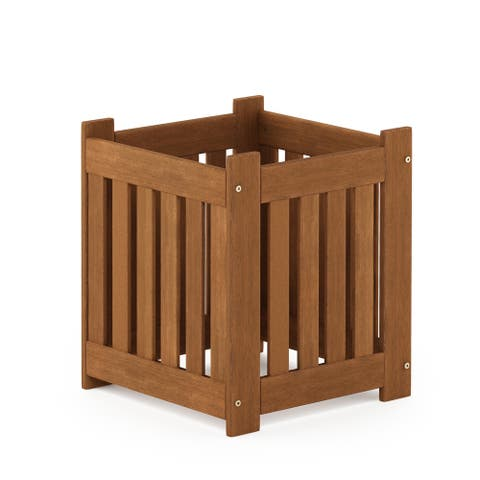 Furinno Tioman Hardwood Outdoor Lifestyle Flowerbox