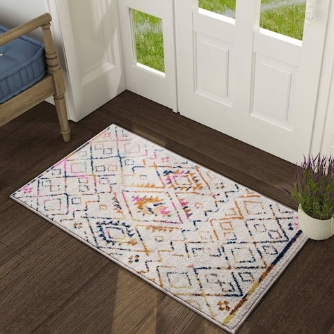 Modern & Contemporary Area Rug Ivory Carpet Rug for Living Room,Bedroom,Dining Room