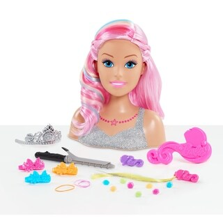 Barbie Dreamtopia Rainbow Styling Head - 22 Pieces