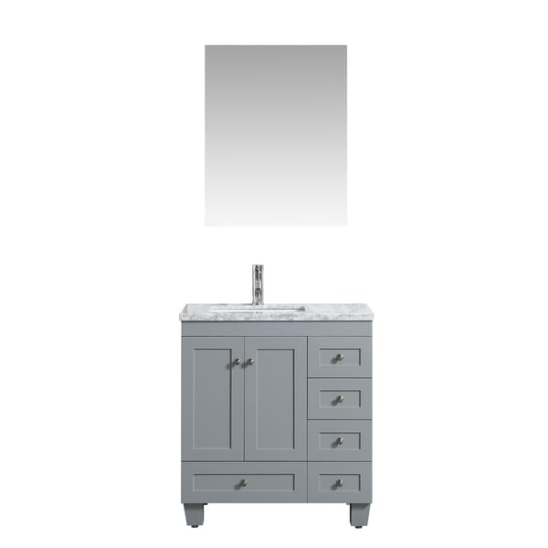 "Eviva Happy 24"" x 18""Grey Vanity"