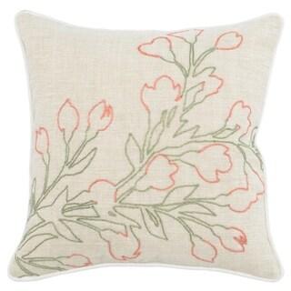 Kosas Home Tenison 100% Linen 18-inch Throw Pillow