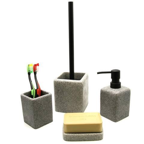 Granite Collection Bath Accessory Set-4 pieces