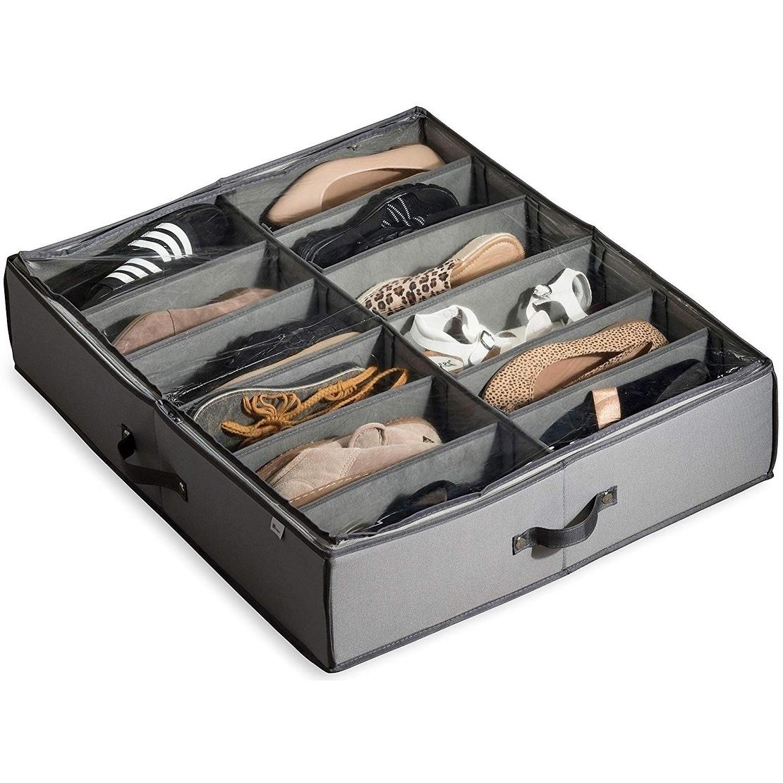 Underbed Shoe Storage Organizer