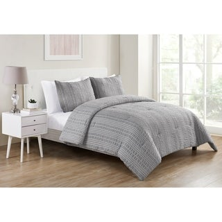Link to Porch & Den Raindance Striped Seersucker Comforter Set Similar Items in Comforter Sets