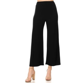 Link to Women's Solid Casual Stretch Wide Leg Pants Similar Items in Pants