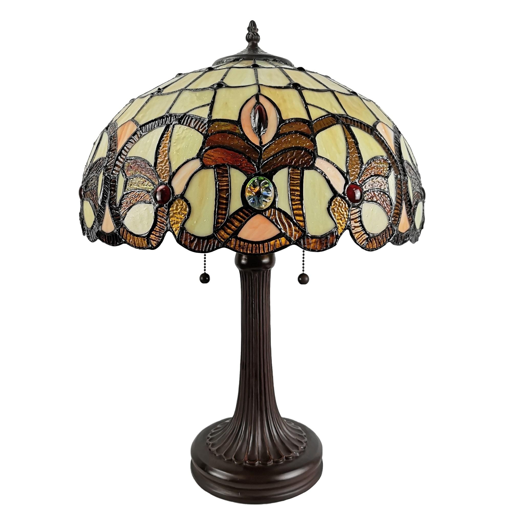 Amora Lighting Tiffany Style Table Lamp