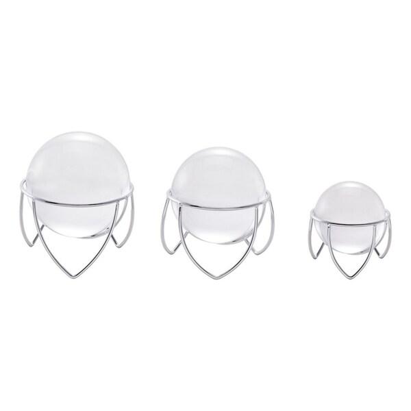 Medium Luxury Sphere // Chrome // Crystal + Iron