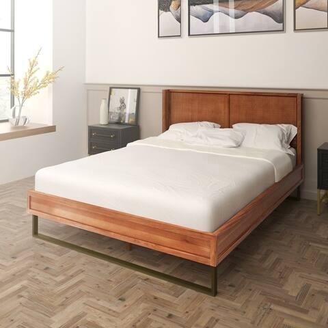 Hopper Studio Sophia Blonde Queen Bed