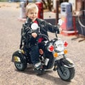 Harley-style Battery Powered Motorcycle Ride-on