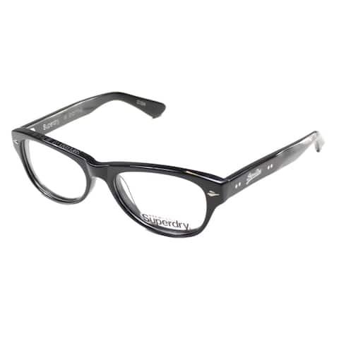 SuperDry SD Kloe 104 51mm Unisex Black Frame Eyeglasses 51mm