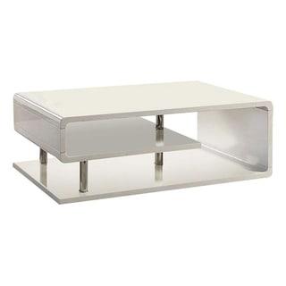 Willlam's Home Furnishing Ninove I Coffee Table in White Finish