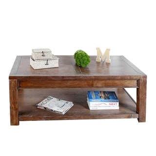 Willlam's Home Furnishing Meadow Coffee Table in Oak Finish