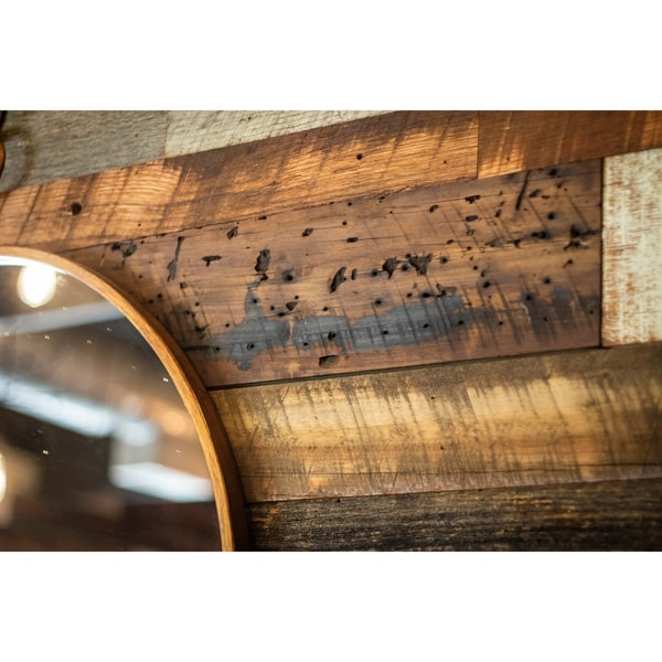 Reclaimed Wood Wall Plank Natural Patina 10 Square Feet
