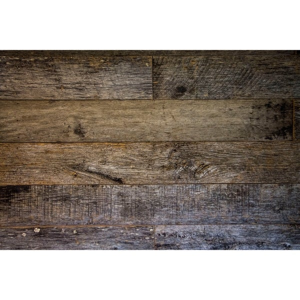Reclaimed Wood Wall Plank Weathered Gray 10 Square Feet. Opens flyout.