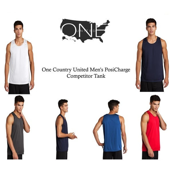 One Country United Mens PosiCharge Competitor Tank