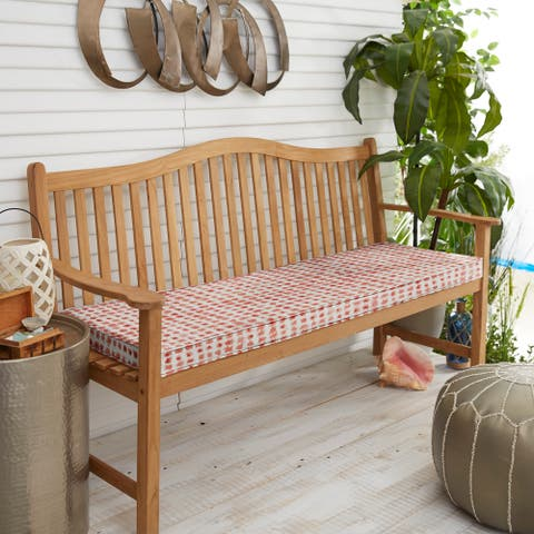 47x18-inch Single Corded Bench Cushion by Havenside Home