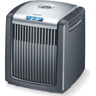 Beurer Air Cleaner and Air Humidifier, Air Purifier with Easy Washable Filter for Clean Air, LCD Display, LW110