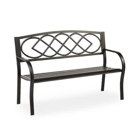 Celtic Knot Garden Bench - N/A