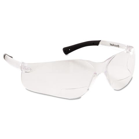 Bearkat Magnifier Protective Eyewear, Clear, 2.5 Diopter