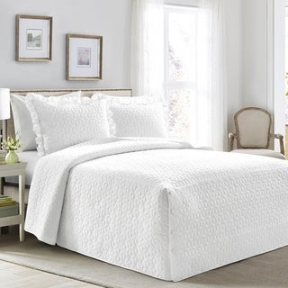 Link to Lush Decor French Country Geo Ruffle Skirt 3 Piece Bedspread Set Similar Items in Bedspreads