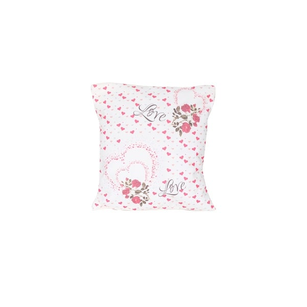 Homedora Pillow Covers for Home Decor, Set of 2, Small Hearts. Opens flyout.