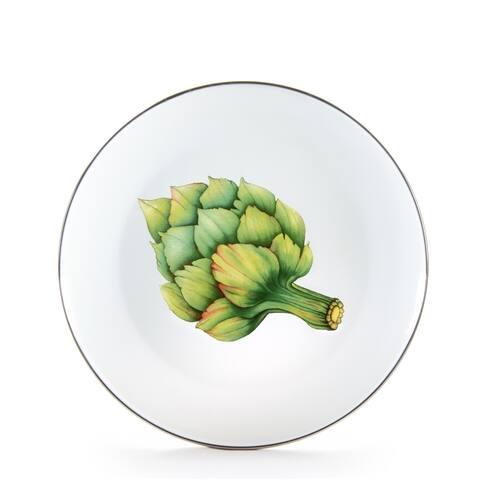 Golden Rabbit Fresh Produce Enamelware Dinner Plates (Pack of 4)