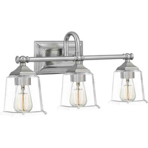 Copper Grove Soctra 3-light Silvertone Bath Light