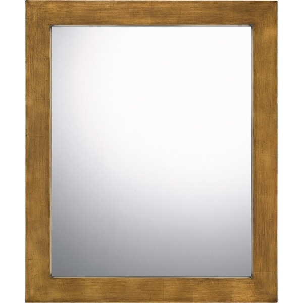 Quoizel Coleman Painted Wood Mirror