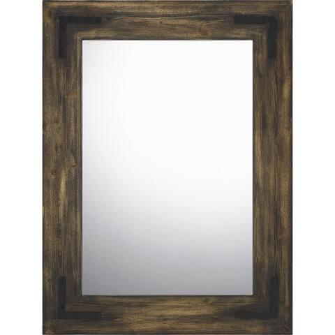 Quoizel Stockdale Dark Brown Mirror - Dark Brown