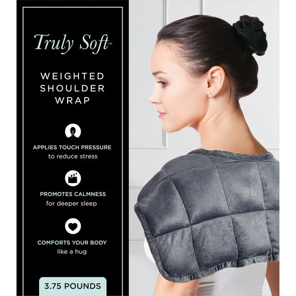 Truly Soft Sensory Calming Weighted Shoulder Wrap. Opens flyout.