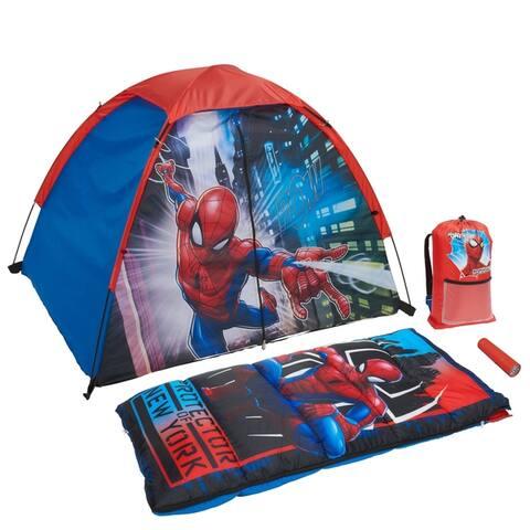 Spider-Man Kids 4-Piece Fun Camp Kit