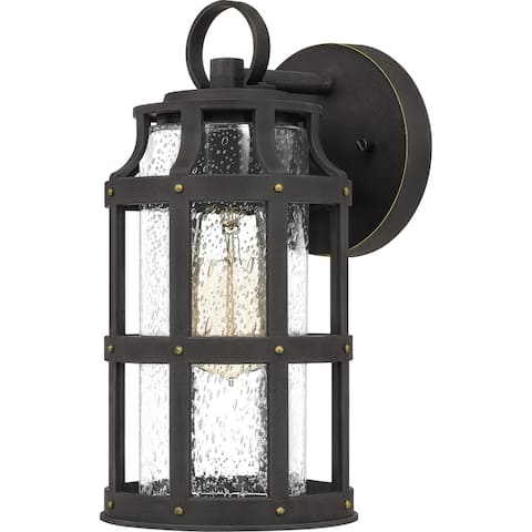 Angkasa Bronze Palladian-style Outdoor Wall Lantern by Havenside Home