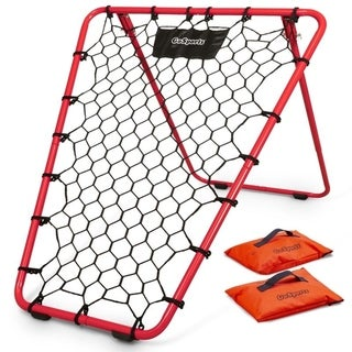 Link to GoSports Basketball Rebounder with Adjustable Frame, Rubber Grip Feet and Sandbags  Similar Items in Team Sports Equipment