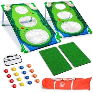 Link to GoSports BattleChip MATCH Backyard Golf Cornhole Game Similar Items in Outdoor Play