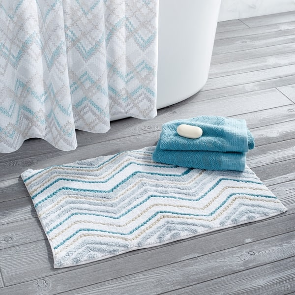 Signature Mesa Chevron Bath Rug
