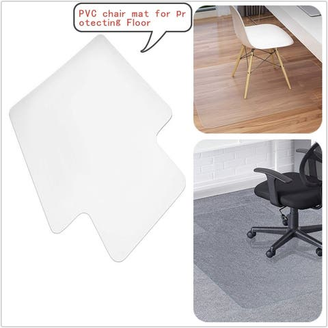 PVC Chair Mat For Protecting Wood Floor and ceramic tile Floor Carpet