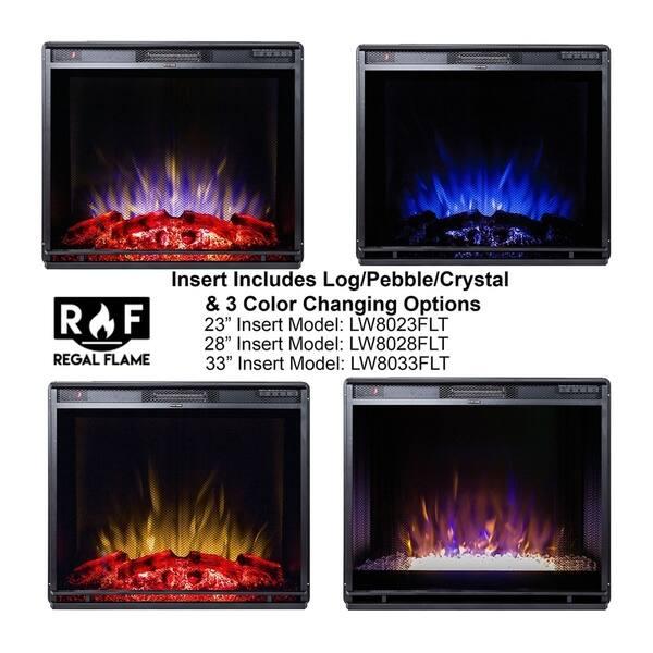Shop Moda Flame 23 Flat Pebble Crystal Log Ventless Heater
