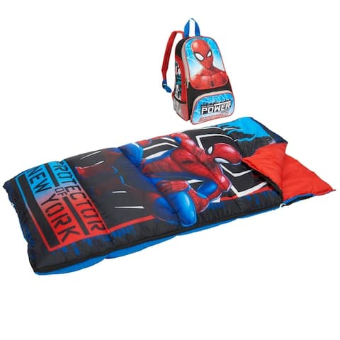 Spider-Man Kids 2-Piece Oxford Backpack Kit